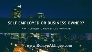 post self employed or business owner